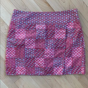 Vineyard Vines patchwork skirt